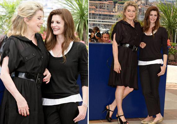 A Cannes-i Filmfesztiválon, anya és lánya együtt érkezett a Les Bien-Amies című film bemutatójára, melyben mindketten főszerepet játszottak.