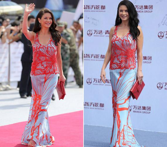 A színésznő az elmúlt hónapokban fogyott pár kilót, a vörös szőnyegen mindenki csodálta gyönyörű alakját.