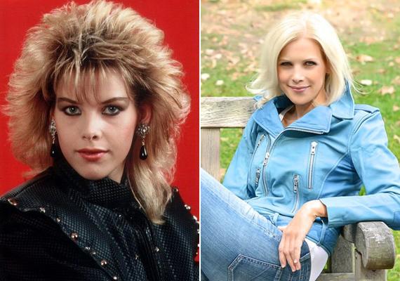 Alig változott, pedig a két kép készítése között eltelt több mint 30 év. C. C. Catch sokak szerint szebb, mint valaha.