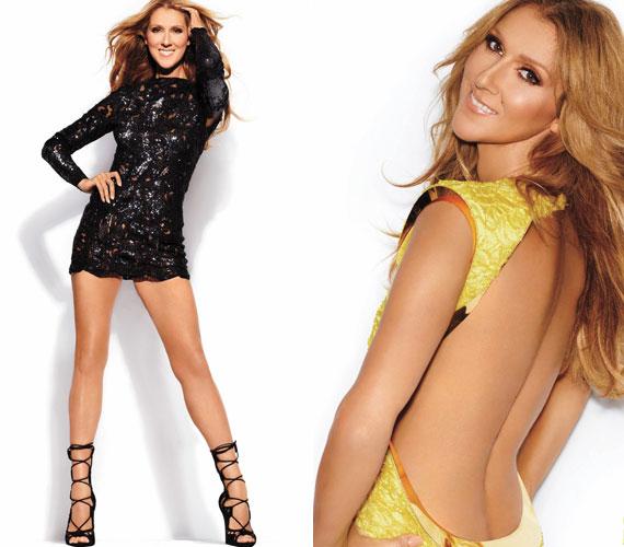 A Vegas magazin szeptemberi számának is modellt állt, bár ott színes képeken látható, különböző dögös szerelésekben: miniszoknyában, illetve egy hátul teljesen nyitott ruhában.