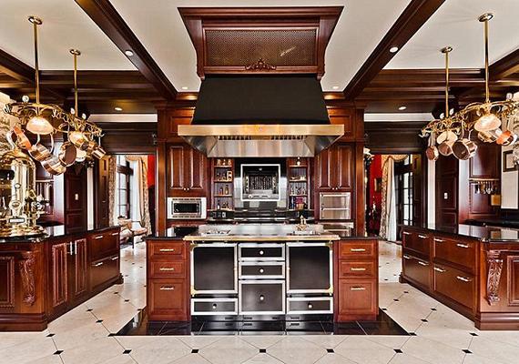 Celine Dion saját bevallása szerint szeret főzni a családjának.
