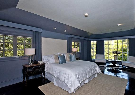 Az öt hálószoba közül ebben alszik Channing Tatum feleségével.