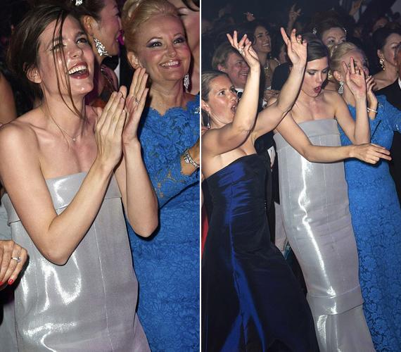 Charlotte Casiraghi 2013. december 17-én életet adott első gyermekének, azóta nem is lehetett látni nyilvános eseményen. Most önfeledten ropta a táncot.