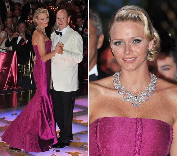 2011 nyarán elegáns frizurájával és lila, pánt nélküli, sellő szabású ruhájával megkaphatta volna a bál szépe kitüntetést.