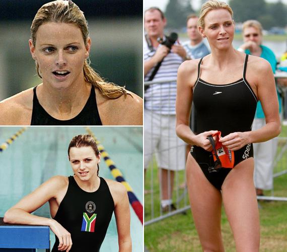 Charlene Wittstock dél-afrikai színekben versenyző sikeres úszónő volt, amikor Albert herceg megismerte. Állítólag úszódresszben látta meg először, és azonnal beleszeretett.