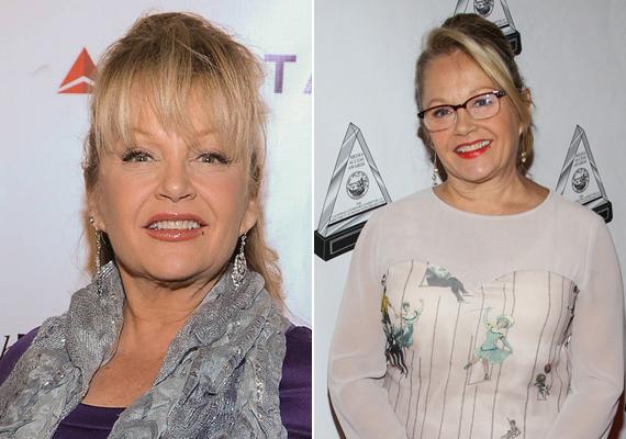 Így fest manapság a Dallas egykori szőkesége, Charlene Tilton. A szőke színésznő a mai napig szívesen vesz részt hollywoodi partikon, a jobb oldali fotó idén készült, a bal oldali pedig még tavaly év végén.