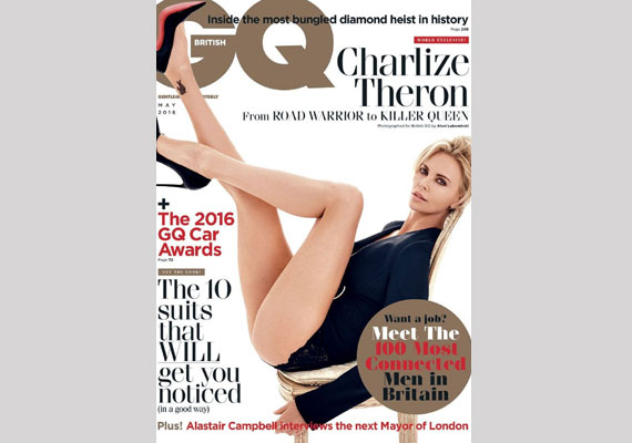 40 éves, és dögösebb, mint valaha! Nem tudjuk levenni a szemünket Charlize Theron hosszú virgácsairól és elképesztően szexi tűsarkújáról.