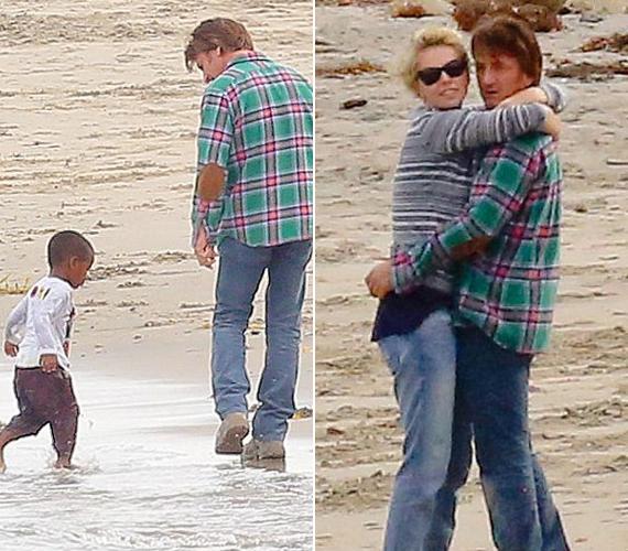 Sean Penn mindig is szeretett volna egy gyereket, és bár még csak rövid ideje vannak együtt, remekül kijön Charlize Theron örökbe fogadott fiával.