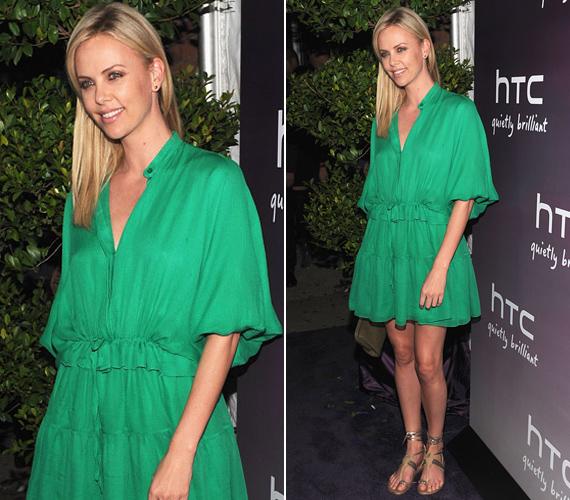 Az Oscar-díjas színésznő az egyik legszebb sztár Hollywoodban, ebben az előnytelen öltözetben azonban kiábrándítóan fest.