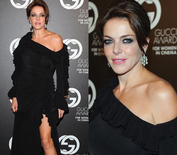 Claudia Gerini, a Rémálomház színésznője szintén nem hiányozhatott az eseményről.