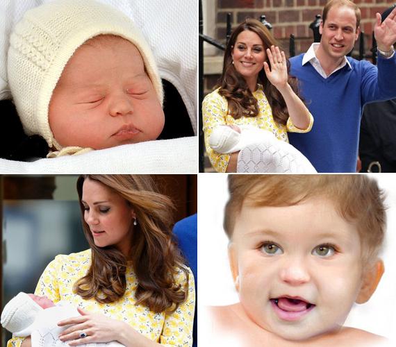 Jövő májusra Charlotte arcocskája pufókká és kerekké válik, pont olyanná, mint nagytesójáé, György hercegé. Tekintete már akkor az édesanyjáét idézi majd.