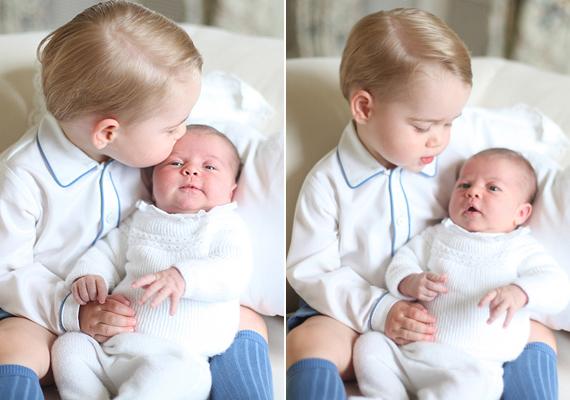 György herceggel közös fotóit is Katalin hercegné csinálta. Látszik, hogy van érzéke a fényképezéshez, ezek a fotók is tüneményesre sikeredtek.