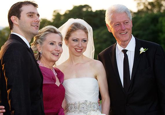 2010-ben hozzáment Marc Mezvinsky bankárhoz, akitől tavaly megszületett első gyermeke is, Charlotte.