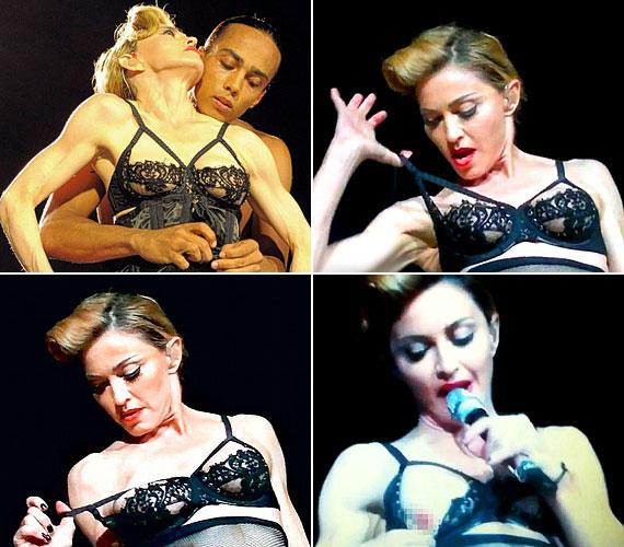Madonna 53 évesen is úgy gondolta, hogy érdemes lenne megmutatnia a libanoni közönségnek bájait.