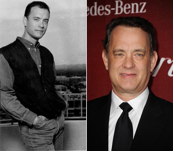 Tom Hanks még fiatalkorában is inkább az aranyos fiú kategóriába tartozott, mint az szívtipróba.