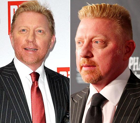 Boris Becker egy év alatt hízott el.
