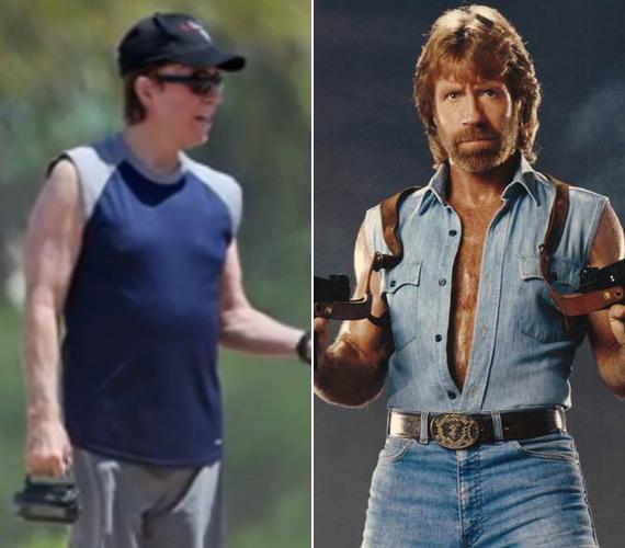 Chuck Norris is pocakot eresztett az elmúlt évek alatt.