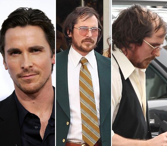 A 39 éves Christian Bale egyáltalán nem hasonlít arra az emberre, akit a Batmanben láthattunk. Új filmjében egy kopaszodó, elhanyagolt külsejű karaktert alakít.