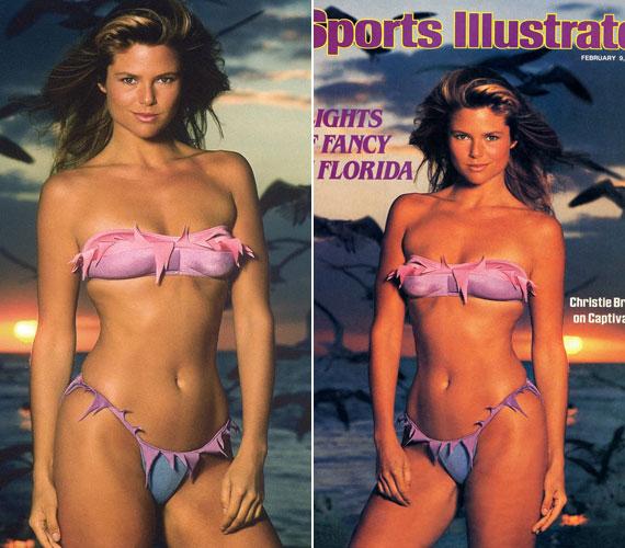 Karrierje kezdetén a Sports Illustrated címlapján. Ez a magazin lendítette meg Heidi Klum karrierjét is.