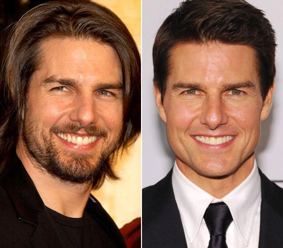 A holnap határa sztárja, Tom Cruise is már 51 éves, ám a 2002-es képével összehasonlítva nem sok a különbség.