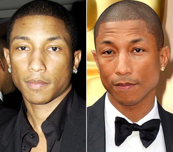 A Happy előadója,Pharrell Williams már 41 éves, bár ezt senki sem mondaná meg róla.