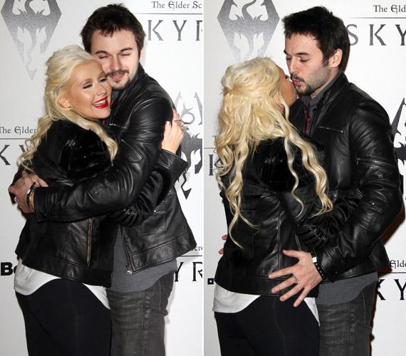 Úgy tűnik, Matthew Rutlert cseppet sem zavarják az énekesnő plusz kilói.