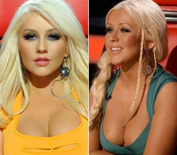 Minden bizonnyal Christina Aguilera volt a férfi nézők kedvenc mentora.