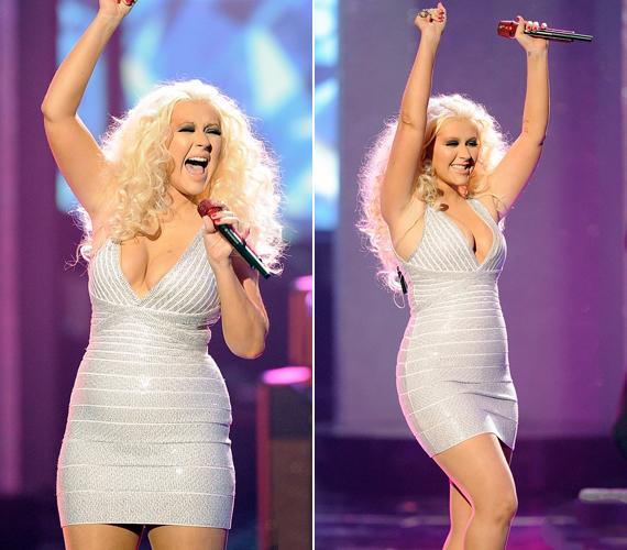 Ám láthatóan ez cseppet sem feszélyezte az énekesnőt.