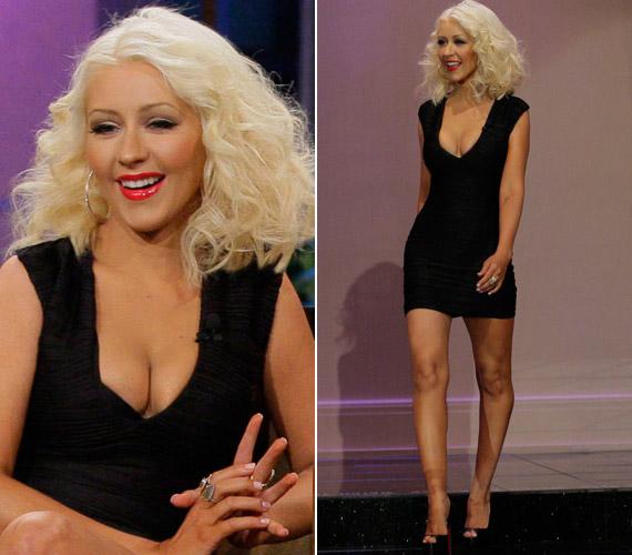Christina Aguilera 2008. január 12-én adott életet gyermekének, a szülés után pedig folyamatosan gond volt a súlyával. Ám egy 1600 kalóriás étrenddel sikerült megküzdenie a plusz kilókkal.