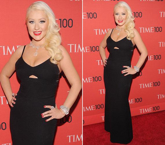 Április 23-án mindenkit meglepett, amikor a New York-i Time 100 gálán nádszálkarcsún lépett a vörös szőnyegre.