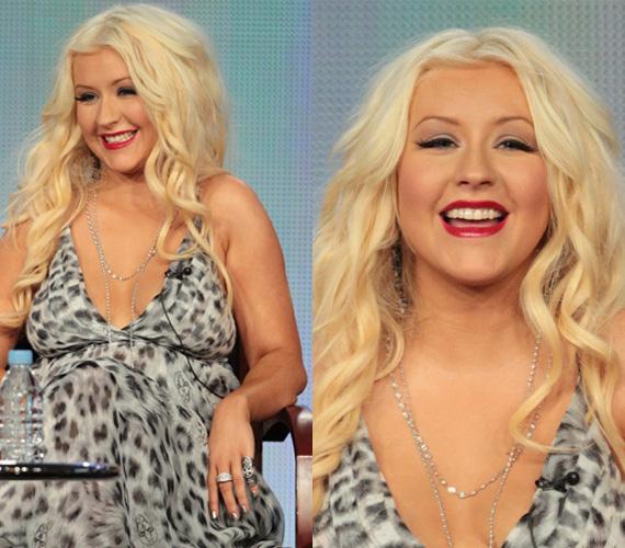 Az énekesnő nem tudja megemészteni, hogy meghízott, és számára előnytelen ruhákat hord.