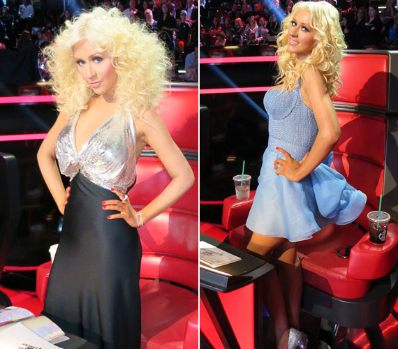 Szerda este posztolta ezeket a képeket az énekesnő. Ruhái nem bíznak semmit a képzeletre.