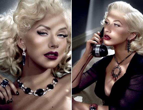Az énekesnő szerepelt már a W magazinban: 2008-ban Stephen Webster ékszerkollekcióját mutatta be szintén agyonretusált fotókon.