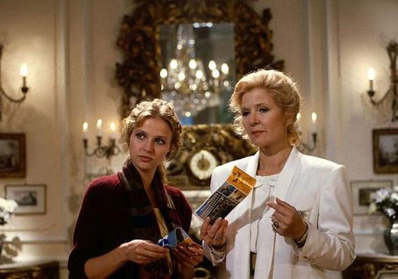 A sorozatbeli lányával, a Susanne von Guldenburgot alakító Katharina Böhmmel.