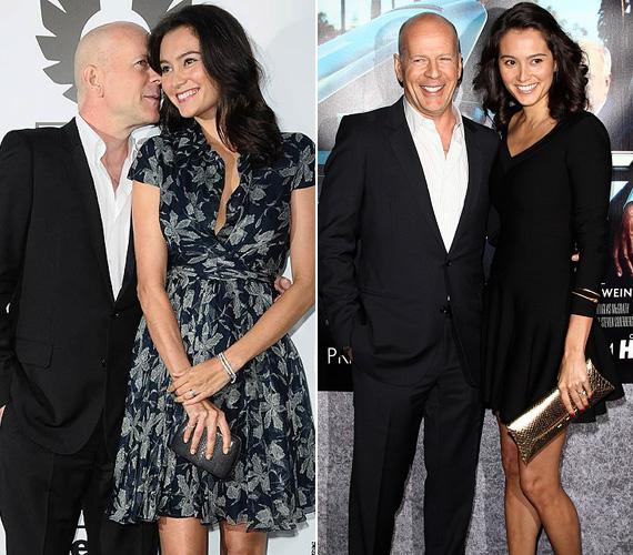 Bruce Willis 2009-ben vezette oltár elé Emma Heminget, a színész akkor volt 53, arája pedig 30 éves. Két lányuk született a házasságban, Bruce Willis pedig további három lány édesapja első házassága révén - Demi Moore 1987 és 2000 között volt a felesége.