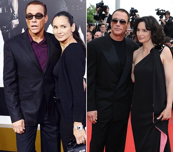 A nősülési rekordot az 54 éves Jean-Claude van Damme tartja, aki ötször nősült eddigi élete során, de kétszer ugyanazt a nőt vette el. Ő nem más, mint Gladys Portugues bodybuilder, aki először 1987-ben ment hozzá a színészhez, de 1992-ben elváltak. Majd hét évvel később ismét oltár elé álltak, azóta együtt vannak, két gyermekük született. Érdekesség, hogy Gladys három évvel idősebb a színésznél.