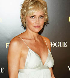 Sharon Stone, a bátor