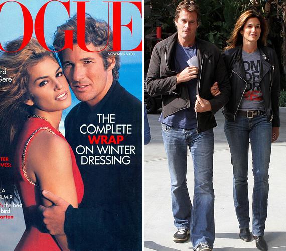 Cindy Crawford, a feleség: a szupermodell kétszer ment férjhez, először Richard Gere színészhez, vele 1991 és 1995 között voltak házasok. Három évvel később mondta ki az igent Rande Gerber egykori modellnek, vele azóta is együtt van, két gyermekének is ő az édesapja.