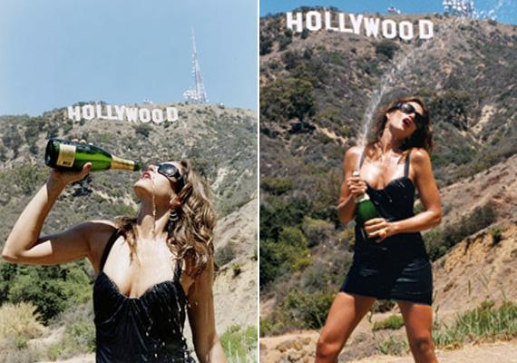 A fotókat elnézve hihetetlen, hogy a szupermodell már 46 éves.