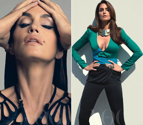 2011 májusában a Vogue mexikói kiadását forrósította fel.