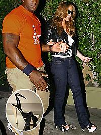 Mariah Carey járni sem tud