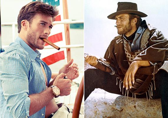 Tavaly egy fotósorozat kedvéért Scott szivarral a szájában pózolt, felidézve az 1964-es Egy maréknyi dollárért című mozi ikonikus jelenetét, amelyben Clint Eastwood rágyújtott.