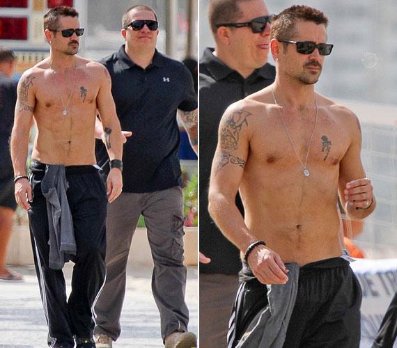 Pár hete is póló nélkül kapták le, ekkor a brazíliai Rio de Janeiróban sétált.