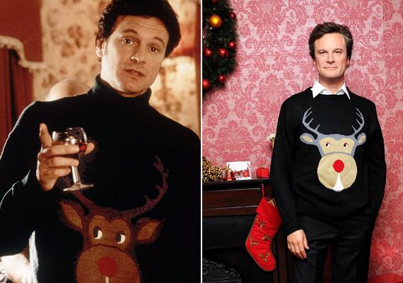 Mark Darcy ikonikus pulcsija olyan nagy népszerűségnek örvendett, hogy Madame Tussaud viaszmúzeumában is ebben az öltözékben örökítették meg Colint az utókornak.