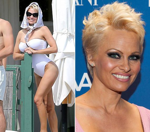 A 46 éves Pamela Anderson számára sokáig munkaruha volt a fürdődressz.