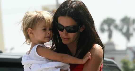 Courteney és férje 2010 októberében jelentették be, hogy különköltöznek, lányuk, Coco az édesanyánál maradt.