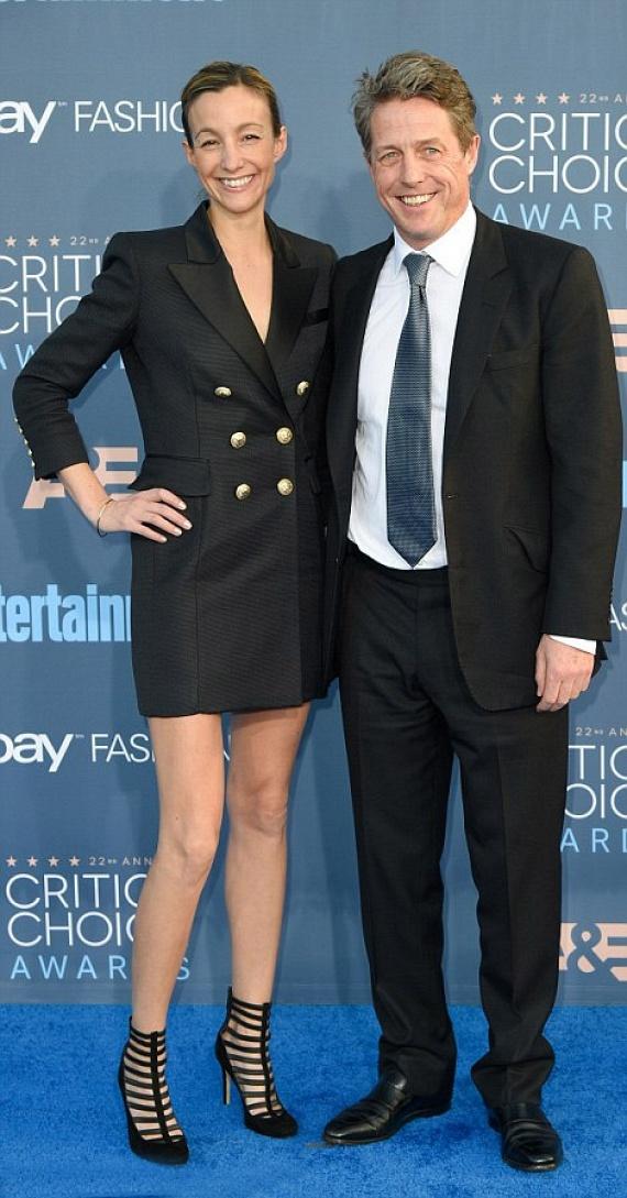 Hugh Grant végre nyilvánosan is felvállalta gyermeke édesanyját, Anna Elizabeth Edersteint, akit eddig még szinte soha nem vitt magával hollywoodi rendezvényre.