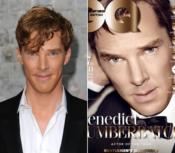Az 1976-os születésű Benedict Cumberbatch az utóbbi évek nagy felfedezettje, aki a szociopata Sherlock szerepében meghódította a tévénézőket a képernyőn keresztül, azóta pedig több mozifilmben is - Star Trek: Sötétségben, 12 év rabszolgaság, A hobbit - szerepet kapott. Októberben pedig a GQ címlapjára került fel, mivel a magazin őt szavazta meg az év színészének.