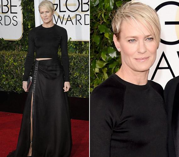 Robin Wright színésznő most Kemal Harris és Karla Welch ruhája mellett döntött.