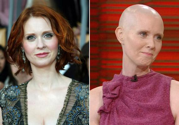 Mintha két különböző nő lenne a fotókon.